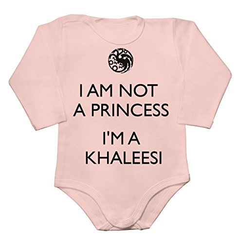 Im-Not-A-Princess-Im-Khaleesi-Baby-Long-Sleeve-Romper-Bodysuit