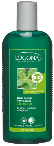Logona - 1003shanorm - Soin et Beauté du Cheveu - Shampooing Normalisant à la Mélisse BIO - 250 ml