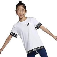 Nike Mädchen Hilo Tape T-Shirt