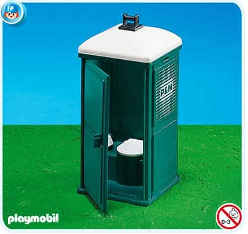 Playmobil 7867. Baño portatil