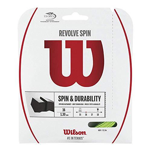 WILSON Unisex– Erwachsene Revolve Spin 16 Set GR Strings Green