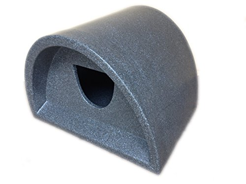 Cosy Cages Ltd -Waterproof Outdoor cat shelter/cat kennel (Grey round) 3