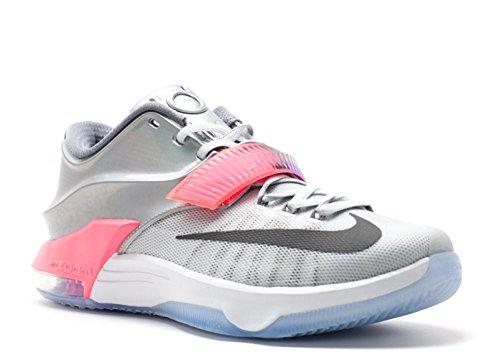 the best attitude 7da2e 6e591 Nike KD VII AS - Platino Puro Multicolore Black 090, EU 44.5, EU 44.5