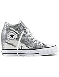 94edb195f98d Amazon.co.uk  Converse - Silver   Girls  Shoes   Shoes  Shoes   Bags