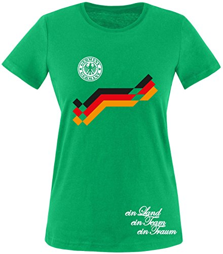 Luckja EM 2016 Deutschland Trikot Wunschname und Wunschnummer Damen T-Shirt