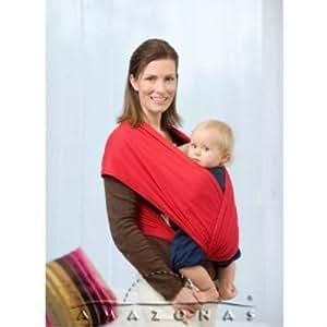 amazonas echarpe de portage carrybaby rouge. Black Bedroom Furniture Sets. Home Design Ideas