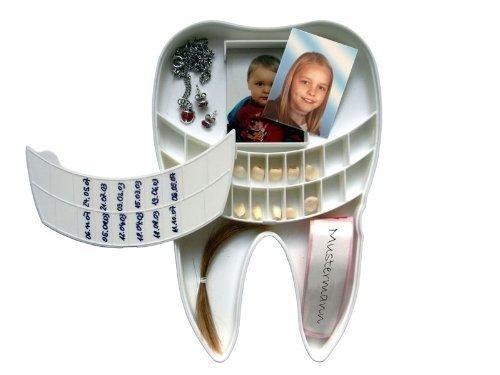 Milchzahn Box für Babyzähne und vieles mehr