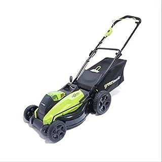 LLHH Tondeuse à Gazon 40v 3.5hp Batterie au Lithium Rechargeable Push-Type 20 Pouces Amical respectueux de l'environnement pelouse tondue