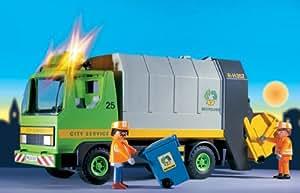 PLAYMOBIL-Camion d'ordures ménagères