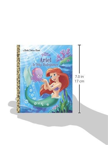 Ariel Is My Babysitter (Little Golden Books)