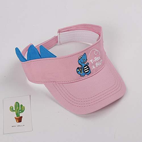 mlpnko Kinder Hut neu Kind leer Hut Baby Sonnenhut kinderbezug Sonnenhut pink 52cm geeignet für 2-4 Jahre