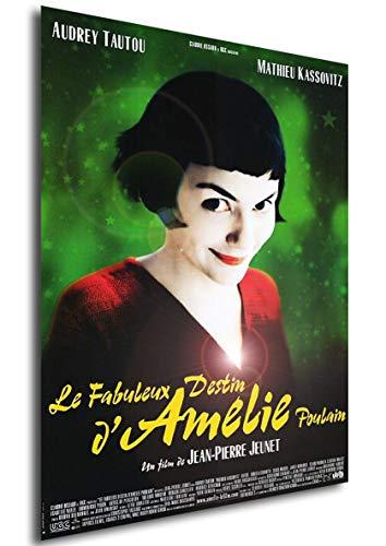 Instabuy Poster Le fabuleux Destin d'Amélie Poulain (Die fabelhafte Welt der Amélie) Vintage Theaterplakat - A3 (42x30 cm)