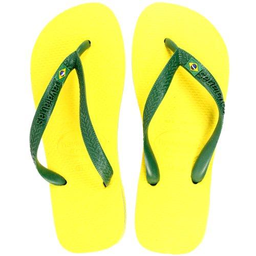 Damen Sandalen Havaianas Brasil Flip Flop Sandals Gelb