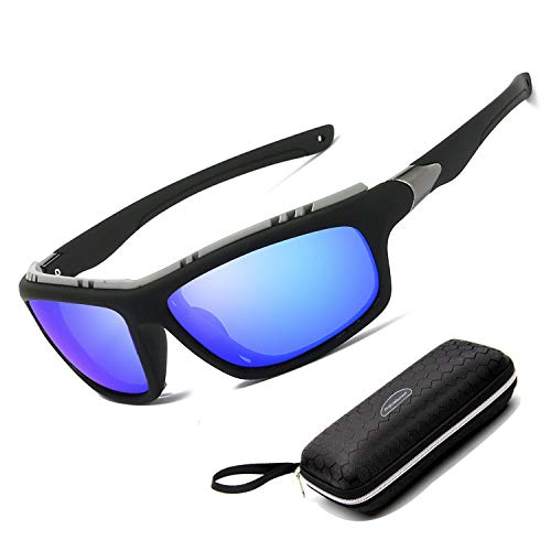 Perfectmiaoxuan Gafas de Sol polarizadas para Hombre Mujer/Golf de Pesca Fresco Ciclismo El Golf Conducción Pescar Alpinismo Deportes al Aire Libre Gafas de Sol