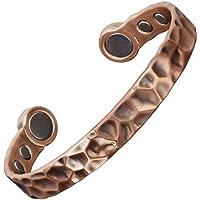 Kupfer gehämmert Armband für Männer–großen Magneten magnetisch Armband Arthritis Schmerzlinderung Karpaltunnelsyndrom... preisvergleich bei billige-tabletten.eu
