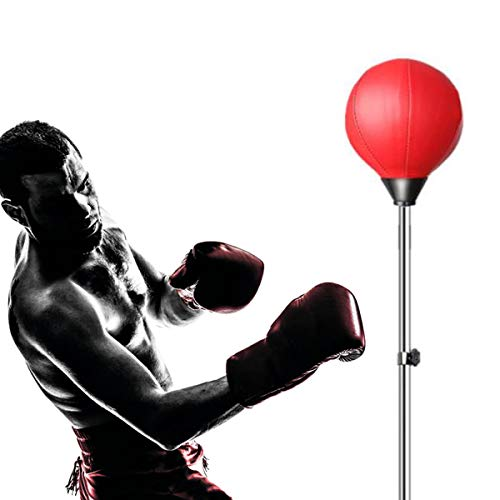 Grist CC Saugnapf Punchingball Boxtraining Standboxsack Trainer Speed-Ball Verstellbar Höhe,Dekompression