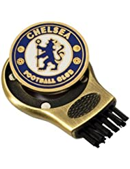Chelsea F.C. Chelsea - Cepillo de accesorio para bolsa de palos de golf, color azul