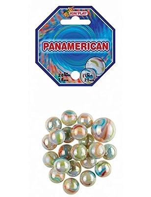 MaRécréation-MesBilles Kimplay - Lot DE 20+1 Billes, Panamerican, 4822