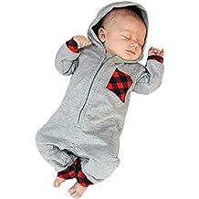 Ropa bebé,❤ Modaworld Monos para Unisex bebé Niñas Niños Manga Larga Otoño Invierno