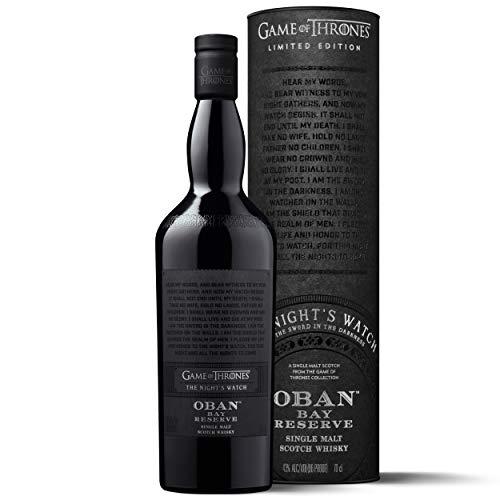 Oban 14 Bay Reserve - Whisky escocés puro de malta (Edición limitada Juego de Tronos: La Guardia de la Noche) 700 ml