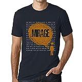 Photo de Homme T Shirt Graphique Imprimé Vintage Tee Thoughts Mirage Marine par One in the City