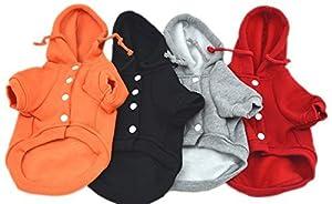 Pet Leso® Chat Pull chien au chaud manteau à capuchon de poche