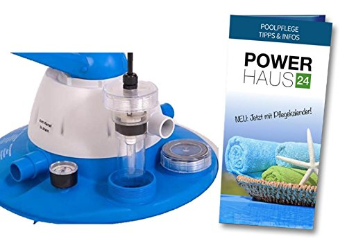 UV Modul für Sandfilteranlagen Flow 5 (SF1025), Flow 7 (SF1050) und Flow 10 (SF1075) mit POWERHAUS24 Pflegefibel!