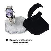 Uteruik Velvet Watch Display Stands,Jewelry Bracelet Display Holder 2pcs