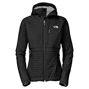 The north face - THE NORTH FACE - Textiles Femmes - W POLAR HOODED JACKET Noir - taillexsxxl: L