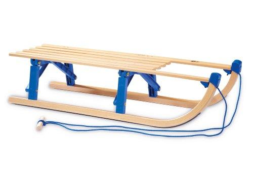 Pinolino Klappschlitten, Holzfarbend, 232374