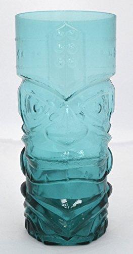 Set von 6 afrikanischen Cup Tiki Glas, Hawai Glaswaren, Delicay Gesundheit Elegant & Praktische Formen