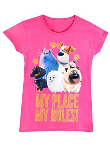 comme-des-betes-t-shirt-a-manches-courtes-the-secret-life-of-pets-fille-7-a-8-ans