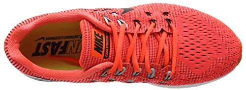 Nike Air Zoom Structure 19, Scarpe da Corsa Uomo Arancione (Total Crimson/Black/White/Wolf Grey)