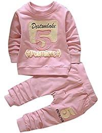 Bambini Abiti In Abbigliamento Ragazze Ragazzi Bambini Pullover E Pantaloni Bambino  Bambini Cotone Stampa Manica Lunga 2fe1a1eca08