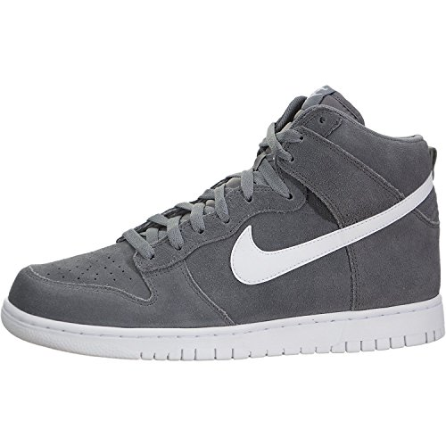 Nike Men's Dunk Hi Cool Grey/White Basketball Shoe 9 Men US (Grau Dunks Nike)