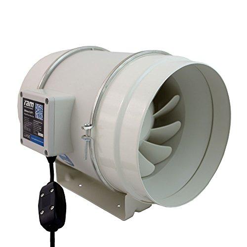 RAM 08-355-372 Extractor en Línea Mezclado-Flow Ventilador-200mm-840m