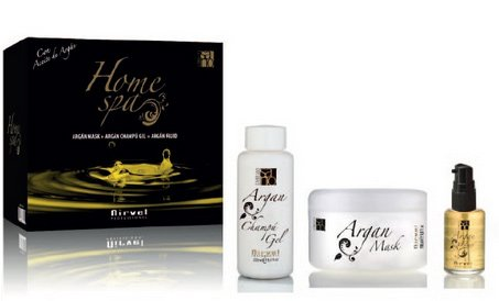 Nirvel Pack Home Capillaire Spa Argan Oil