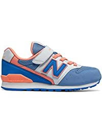 1c197f7052f94 New Balance Girls 996 Classics Youth Sneakers Blue in Size UK 11 Little Kid