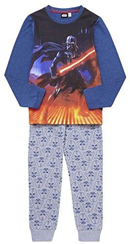 Disney Star Wars. Jungen Schlafanzug mehrfarbig multi Gr. Alter 10-11 Jahre, multi (Pjs 10)