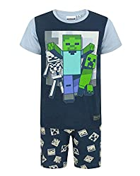 Minecraft Undead Boy's Pyjamas (12 Years)