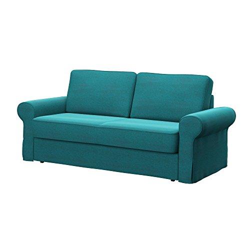 Soferia - IKEA BACKABRO Funda para sofá Cama de 3 plazas, Classic...