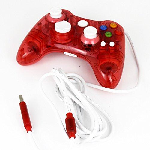 Transparent Game Pad USB Controller Joypad für Xbox 360 Wired Mini haltbares Qualitäts neue