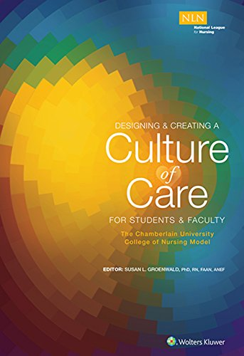 Designing & Creating A Culture Of Care For Students & Faculty: The Chamberlain University College Of Nursing Model por Susan Groenwald epub
