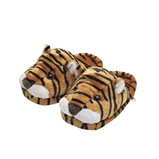 Helen of Troy Hot107UK Massaging Tiger Slippers - Black and Orange Tiger Design (B000RHPF9M)   Amazon price tracker / tracking, Amazon price history charts, Amazon price watches, Amazon price drop alerts