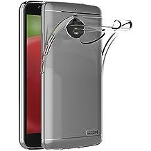 Funda Motorola Moto E4, AICEK Transparente Silicona Fundas para Moto E4 Carcasa Silicona Funda Case