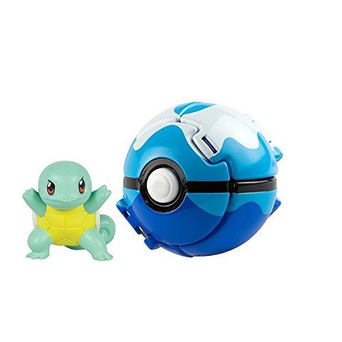 LSXSZZ8 Pokemon Pikachu with Great Ball Throw n Pop Action Figure Toy Set