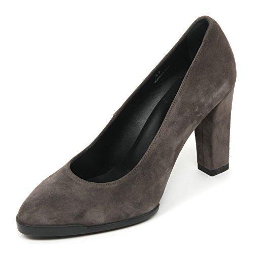 B9612 decollete donna TOD'S gomma T95 scarpa grigio shoe woman Grigio