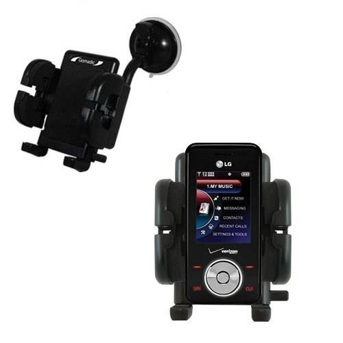 LG VX8550 Windschutzscheibenhalterung für KFZ / Auto - Cradle-Halter mit flexibler Saughalterung für Fahrzeuge