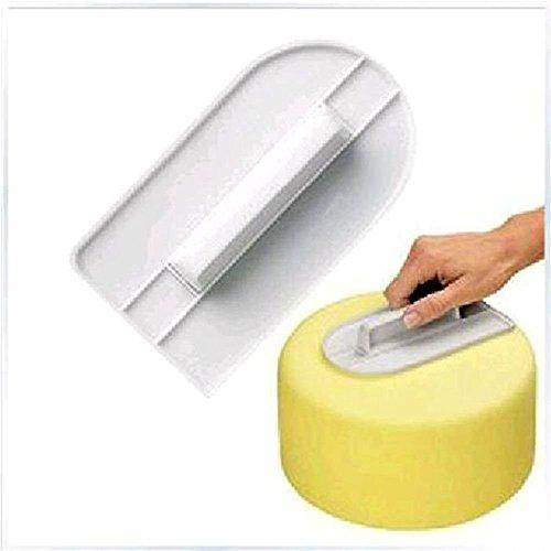 VANKER Nueva pasta de azúcar que adorna la torta de formación de hielo más suave Pulidora acabadora de pastelería Herramientas