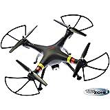 RC Syma X8W RC Quadcopter Drone color Negro con 2MB cámara 6Axis Gyro 2,4GHz RTF Modo sin Cabeza
